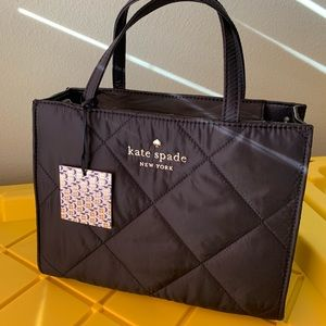 Watson lane quilted Sam kate spade black crossbody